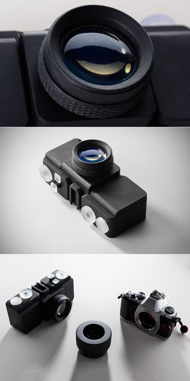 3D-Printed Camera