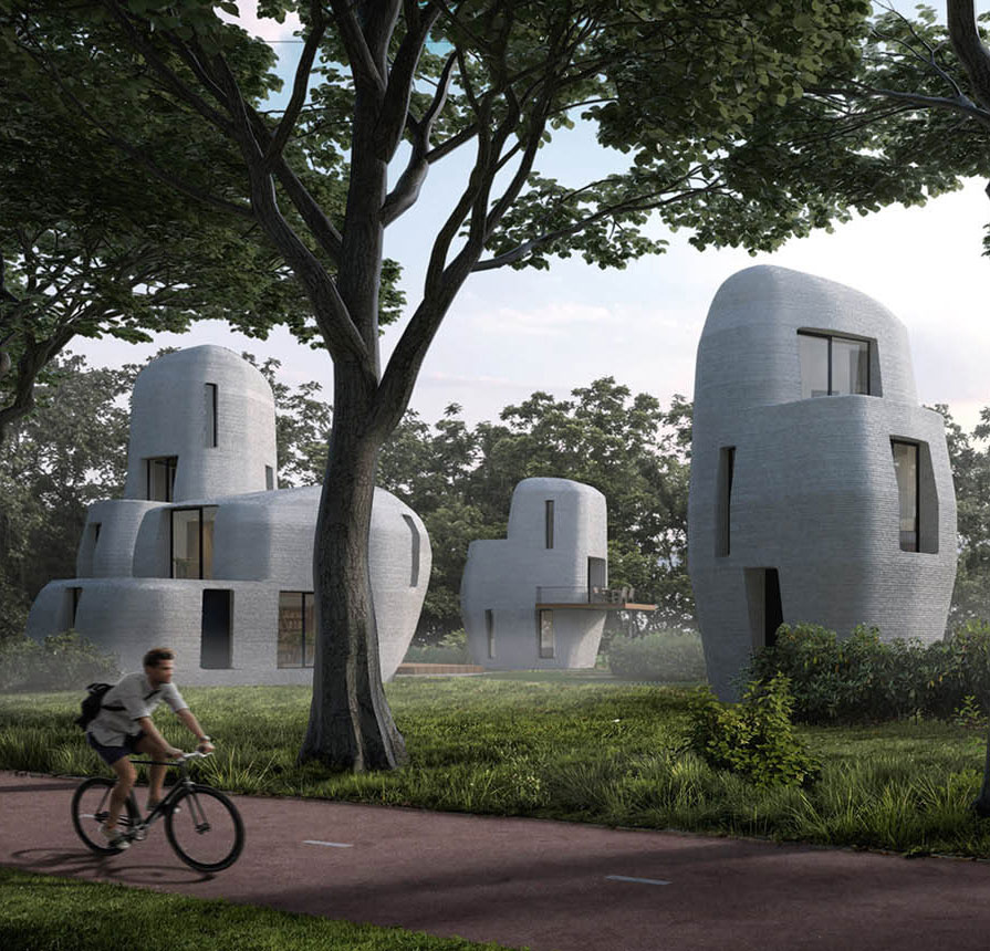 3D-Printed Concrete Houses