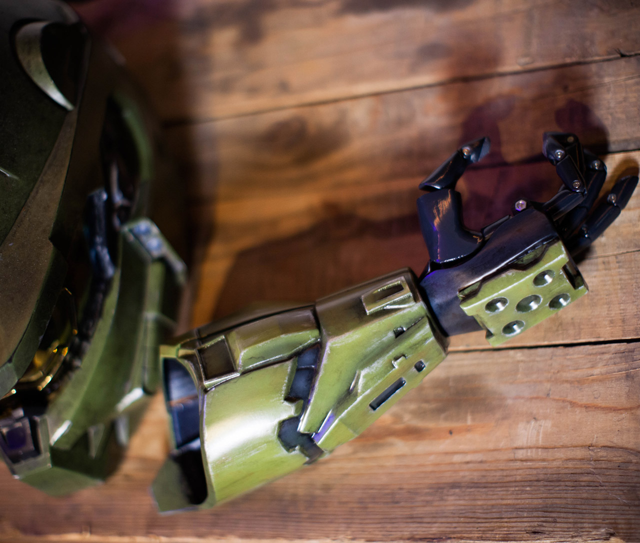 3D-Printed Halo Prosthetic Arm