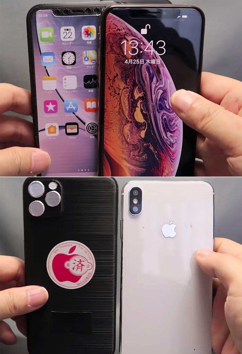 3D-Printed iPhone XI Mockup