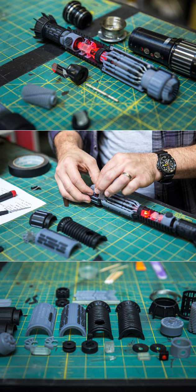 3D-Printed Lightsaber