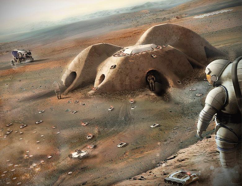 3D-Printed Mars