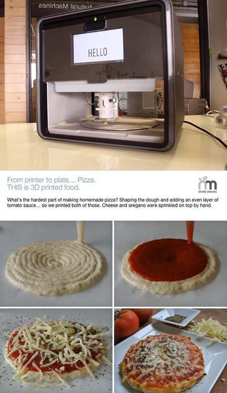 3D Printed Pizza