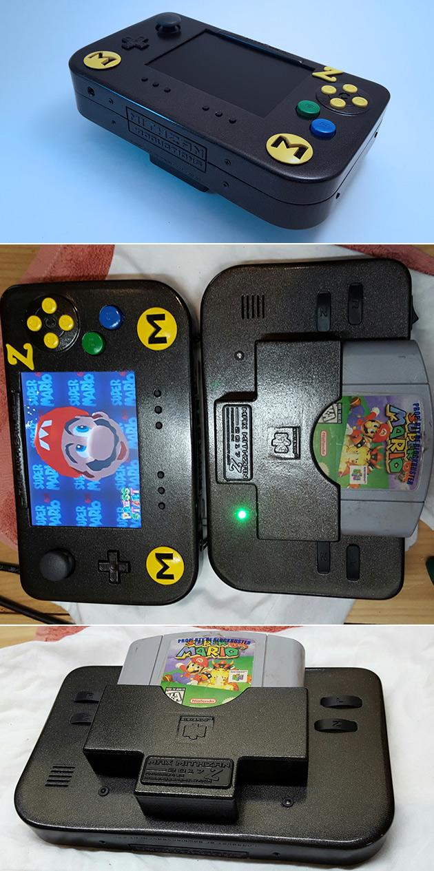 3D-Printed Portable N64