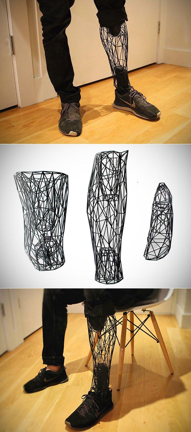 Ce n'est Pas une Illusion d'Optique, il suffit de Vrais Imprimé en 3D des Prothèses en Titane