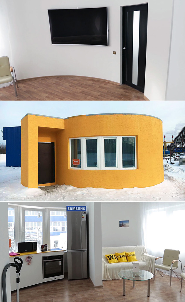 3D-Printed Residential House