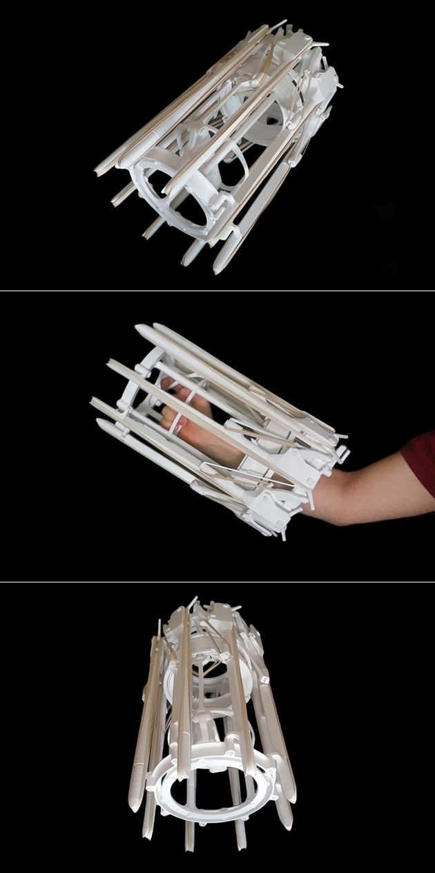 3D-Printed Rubber Band Gun