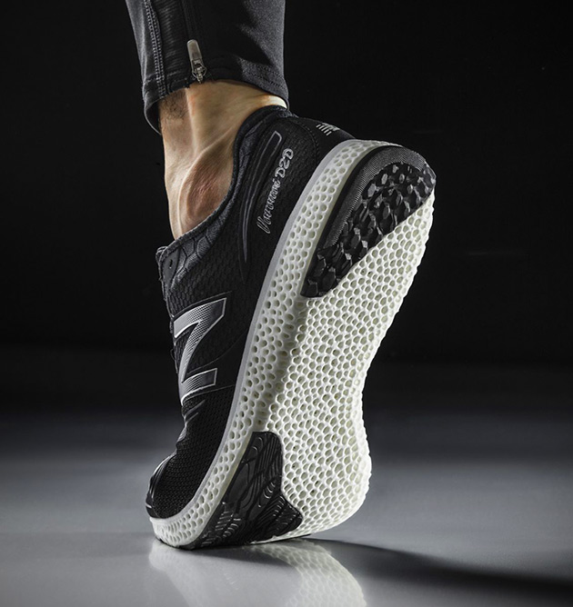 3D-Printed Running Shoe