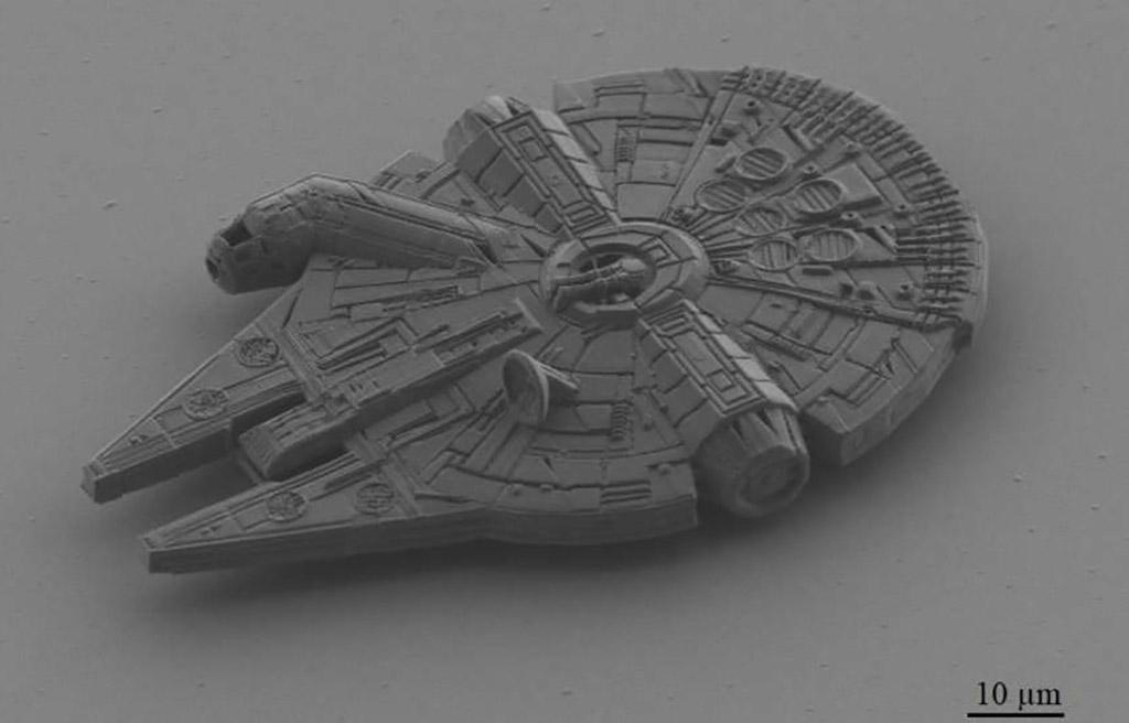 3D-Printed Smallest Millennium Falcon
