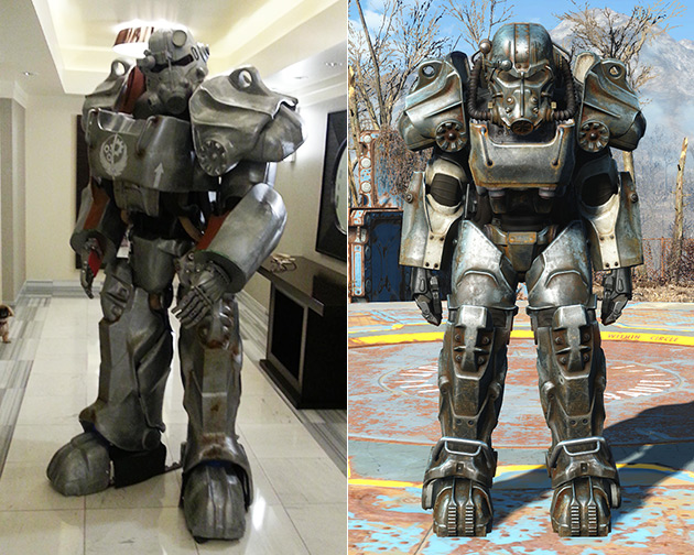 3D-Printed T-60 Power Armor