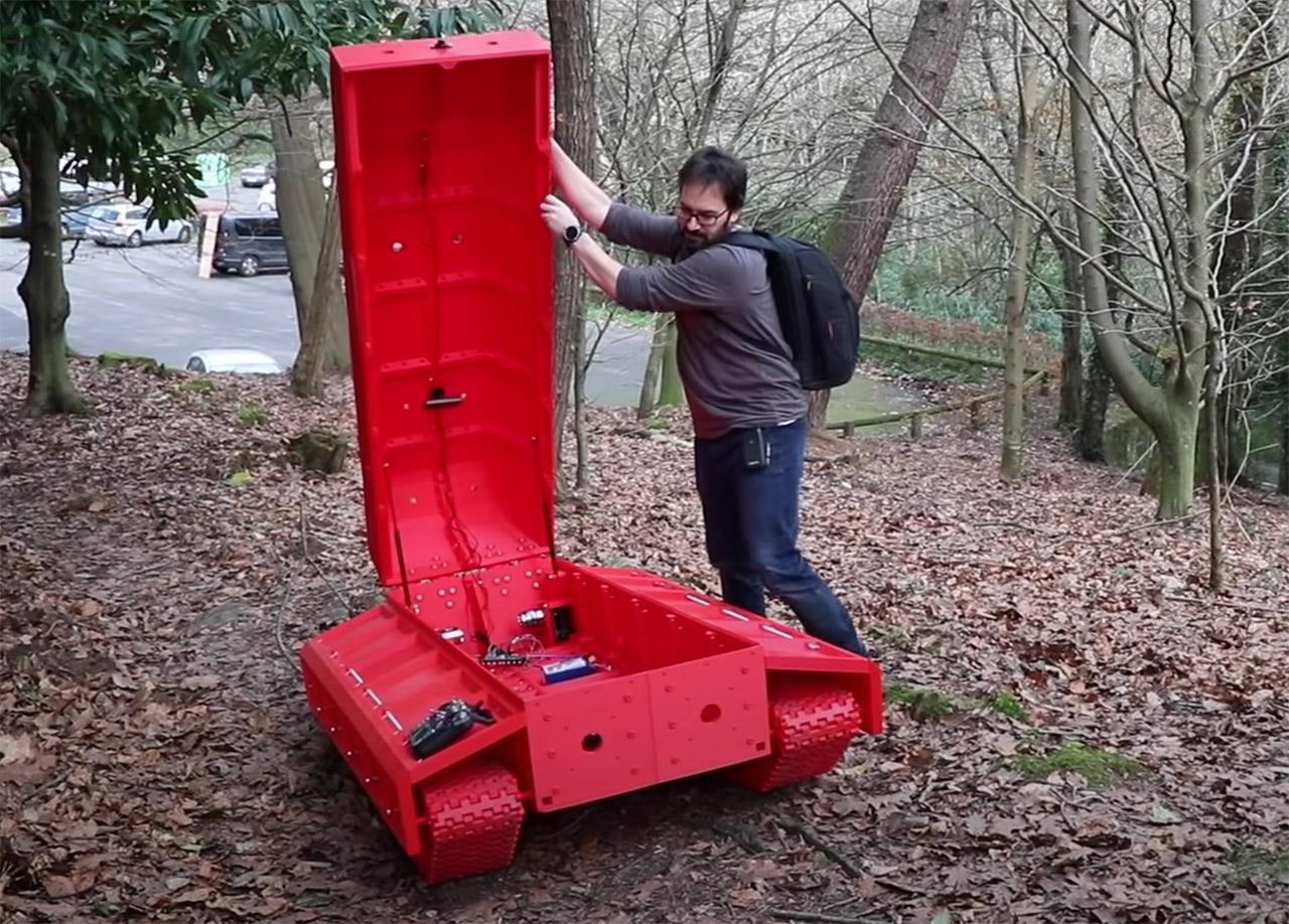 3D-Printed Tank