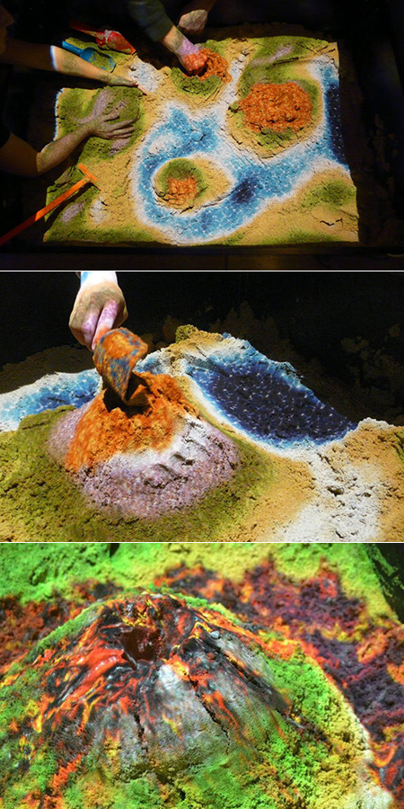 When Technology Meets Sandbox and Kinect, You Get This Mind