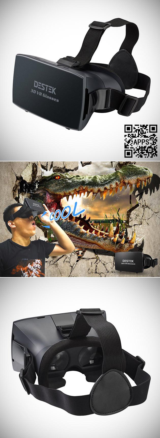 Destek 3D VR Glasses
