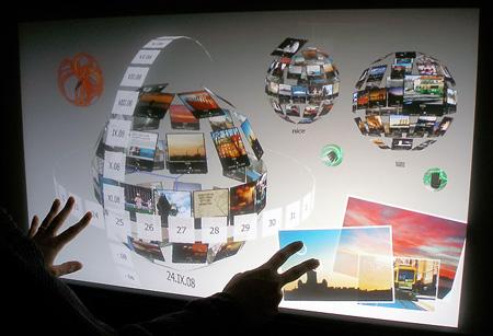 3D Interface