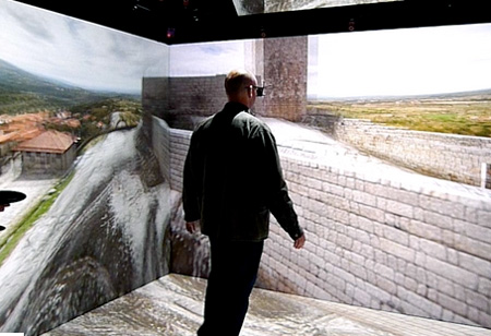 Amazing 3d immersion room