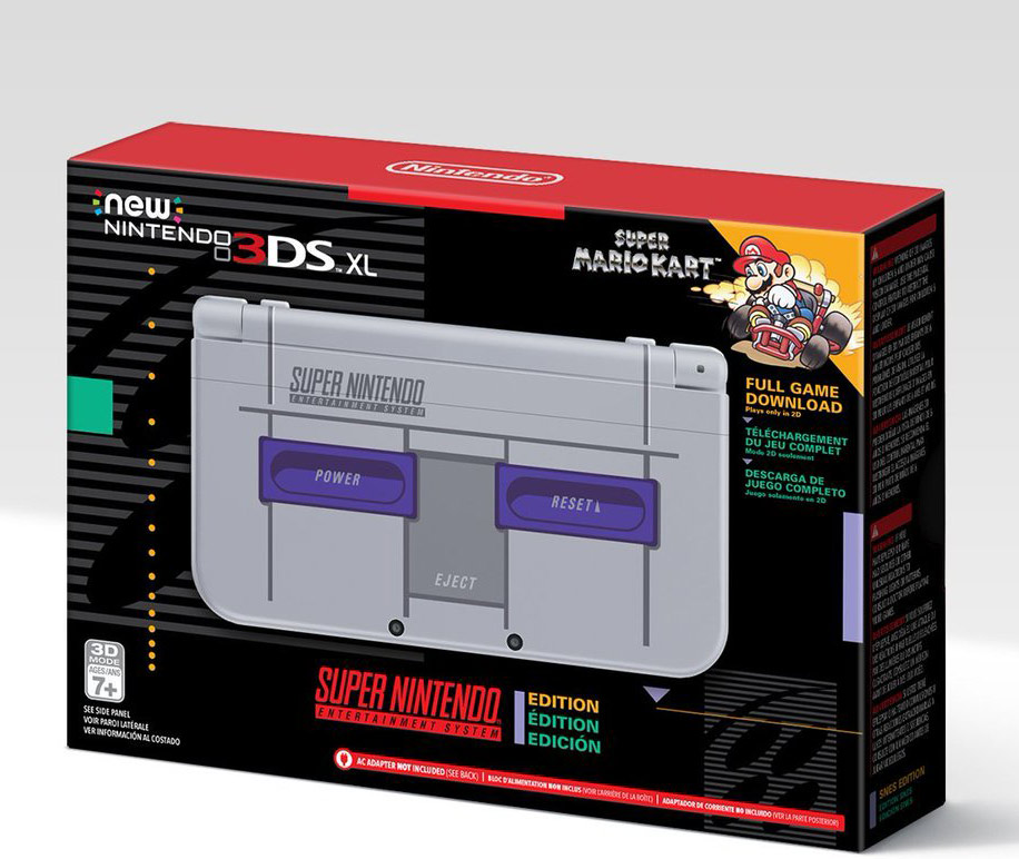 3DS XL Super NES Edition