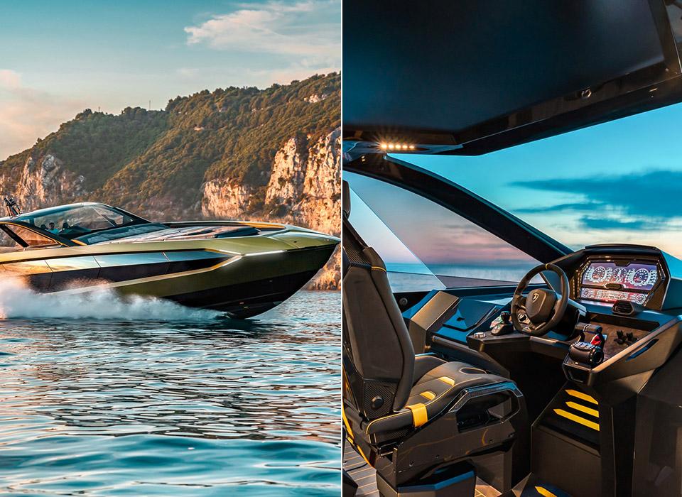 4000HP Tecnomar for Lamborghini 63 Yacht Water