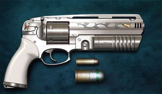 .454-Magnum with 30mm Grenade Launcher