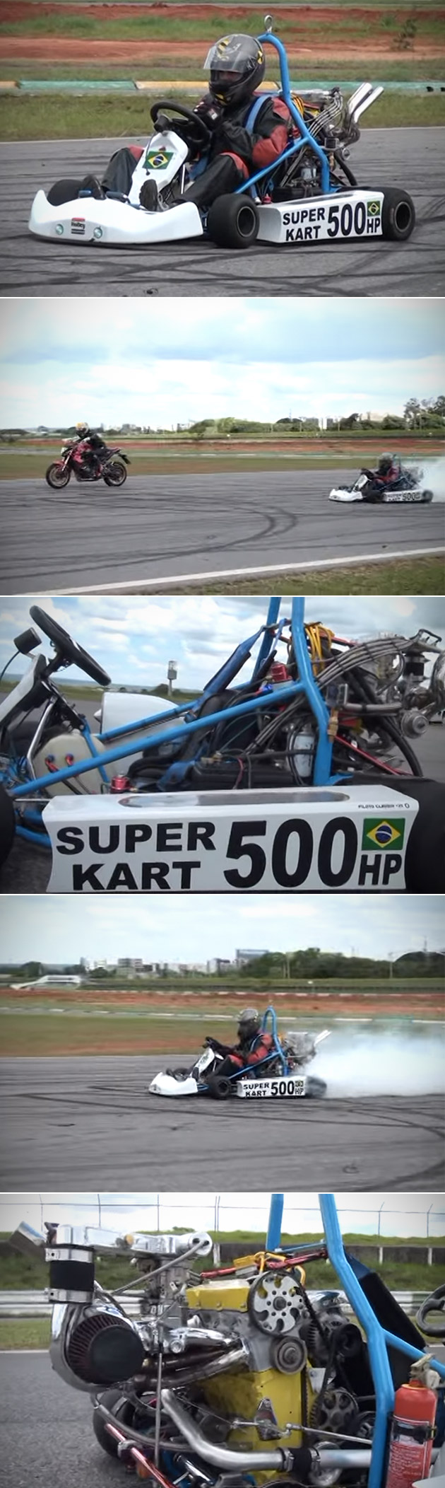 500HP Turbocharged Super Kart Go-Kart