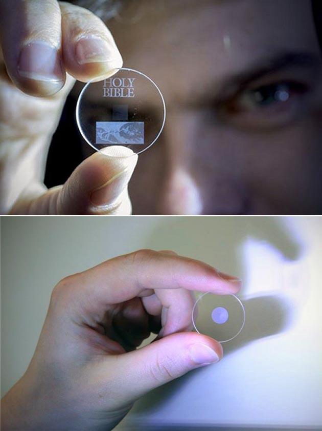 5D Glass Disc