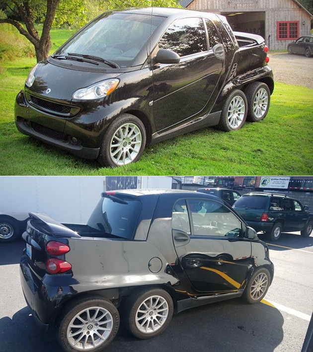 6x6 Smart Fortwo