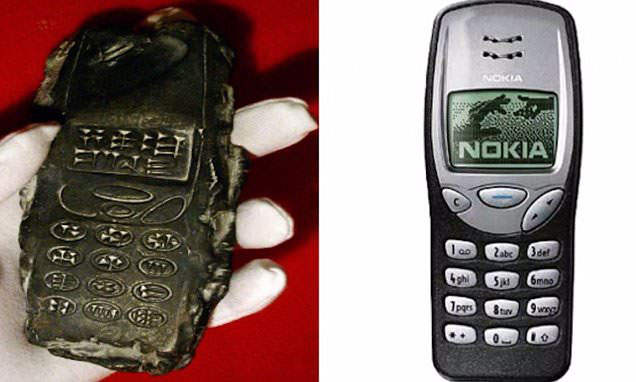 800-Year-Old Cell Phone