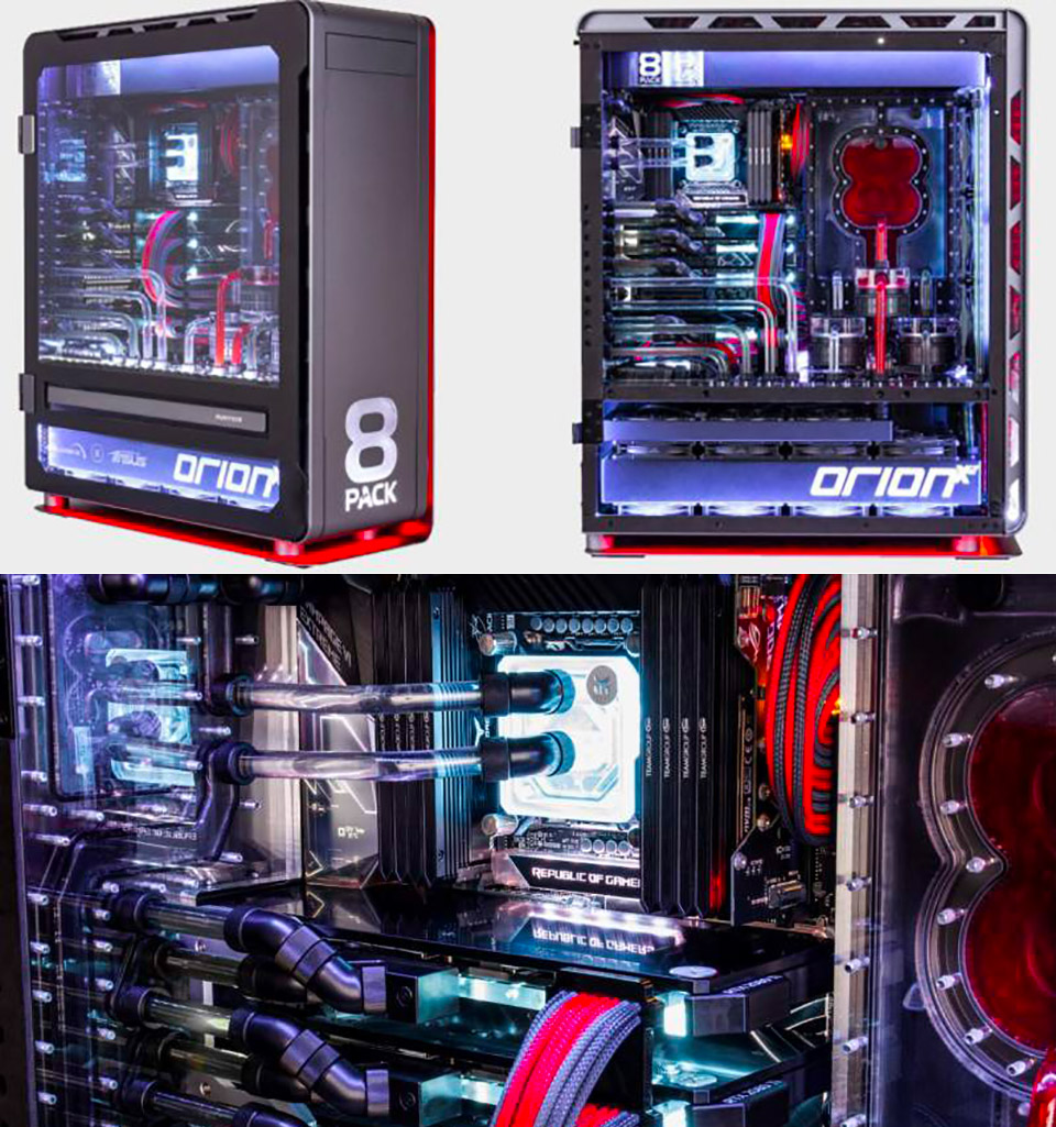 8PACK Orion X2 Computer