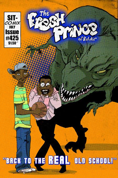 If Popular 90s Sitcoms Were Comic Books Techeblog