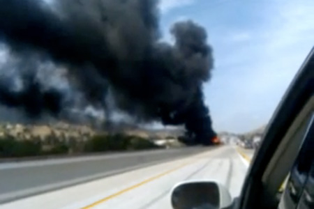 91 Freeway Closure Caused by Tanker Truck Explosion – TechEBlog