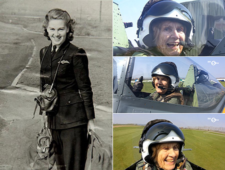 92-Year-Old WW2 Female Pilot