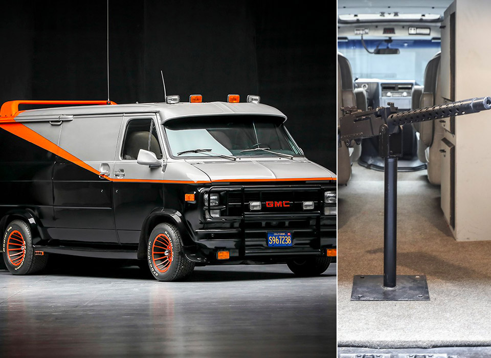 A-Team Van Replica