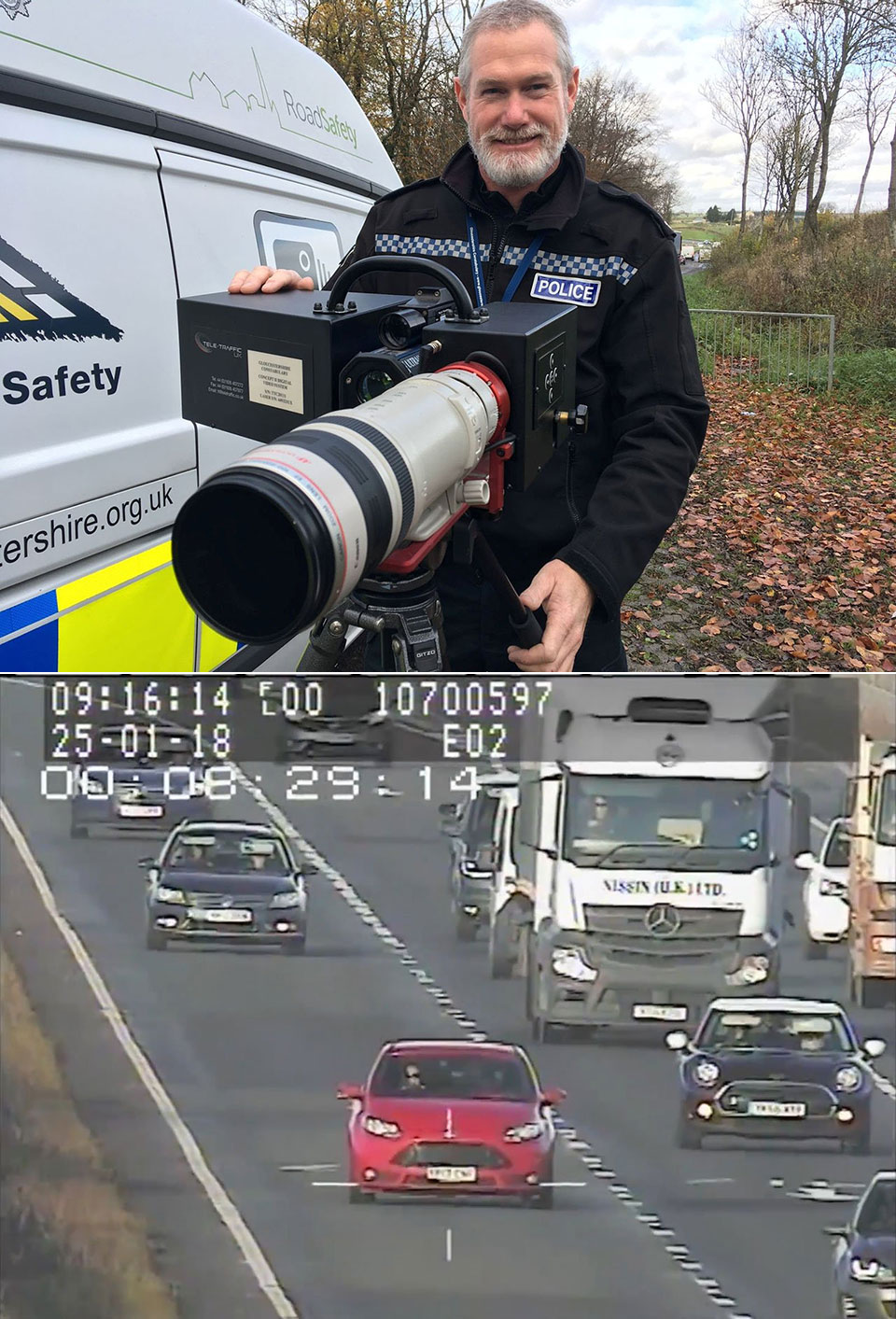 A417 Britain's Biggest Speed Camera