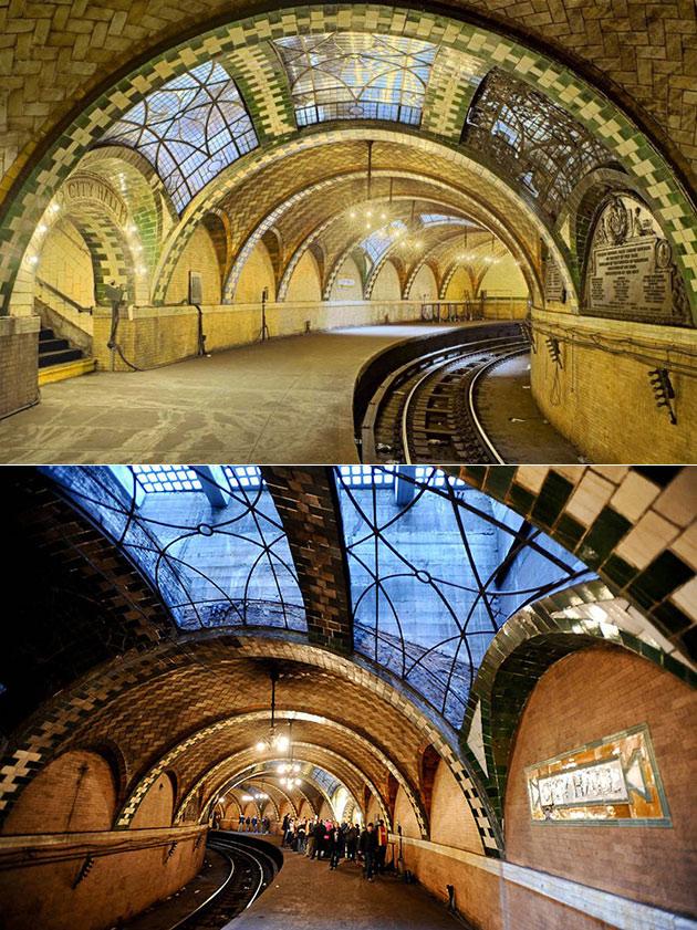 NYC Abandoned City Hall Subway Station