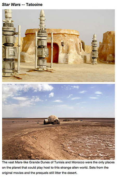 Abandoned Star Wars Movie Set