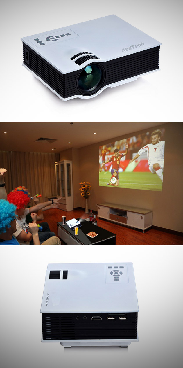 Abdtech Mini LED Projector UC-40