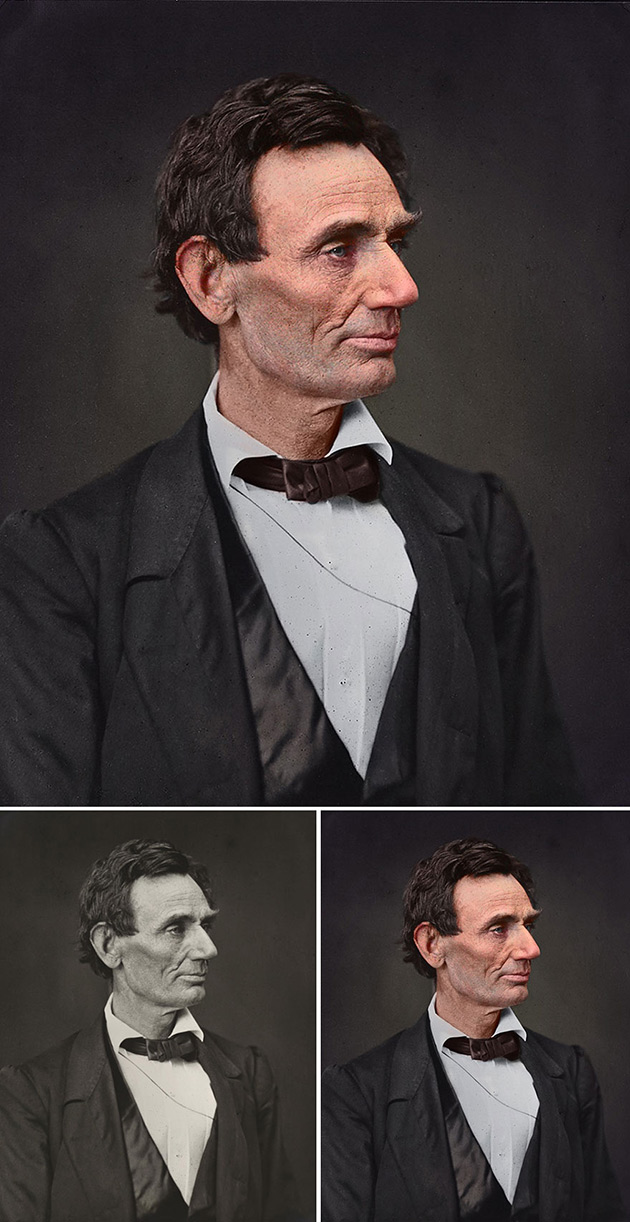 Abraham Lincoln Without Beard