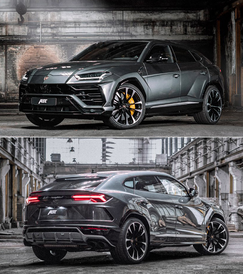 ABT Sportsline Gives Lamborghini Urus A Stealthy 710HP