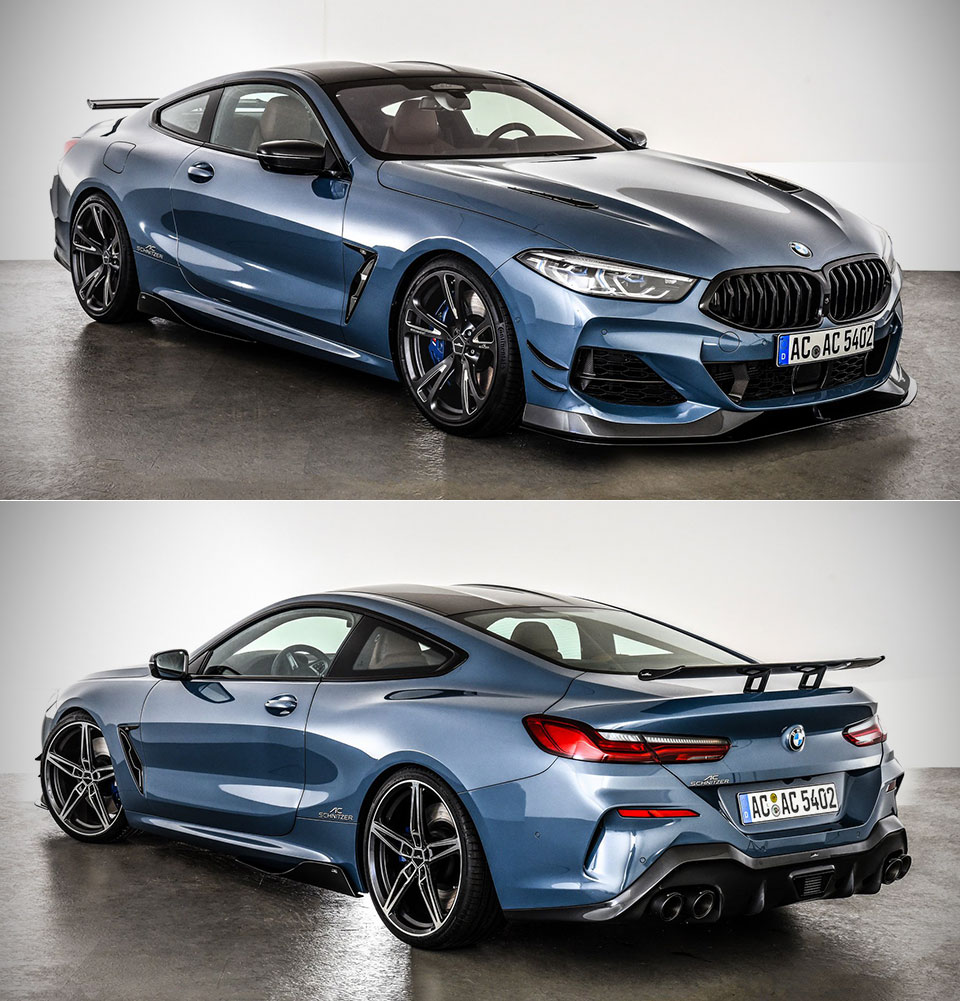 AC Schnitzer G15 BMW 8-Series Channels The M8 Gran Coupe
