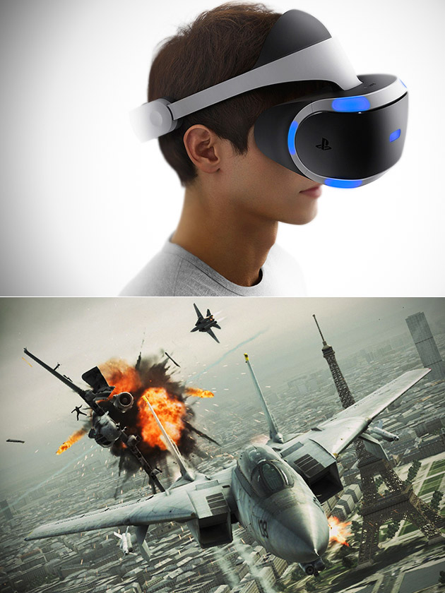 Ace Combat 7 Sony PlayStation VR
