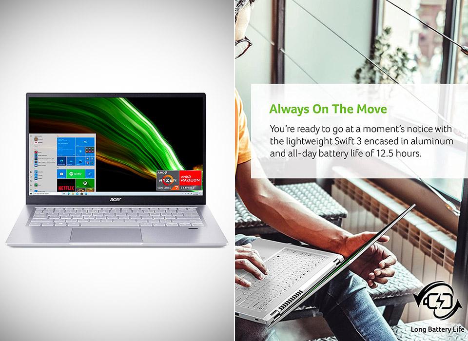 Acer Swift 3 Ryzen 7 Laptop