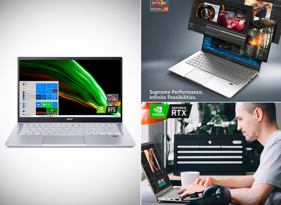 Acer Swift X SFX14-41G-R1S6 Laptop