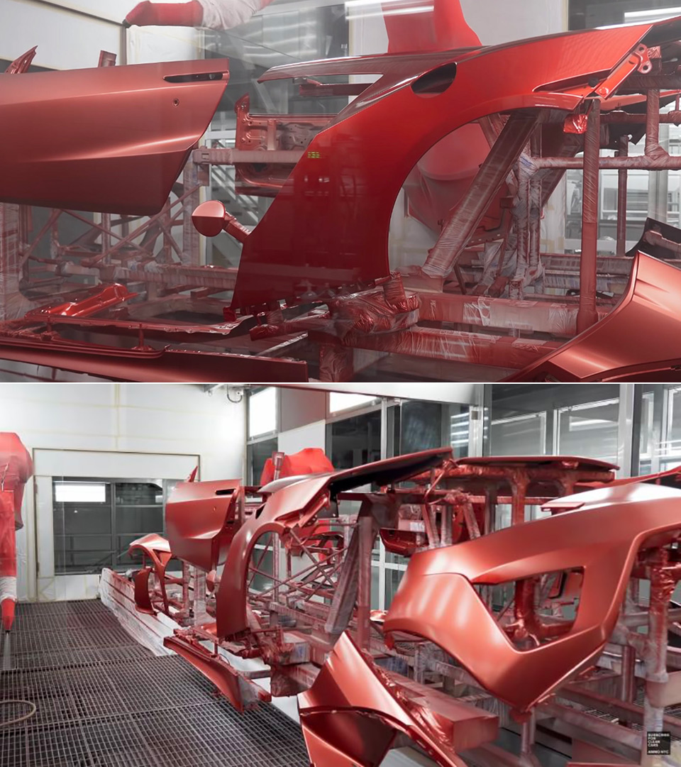 Acura NSX Andaro Paint