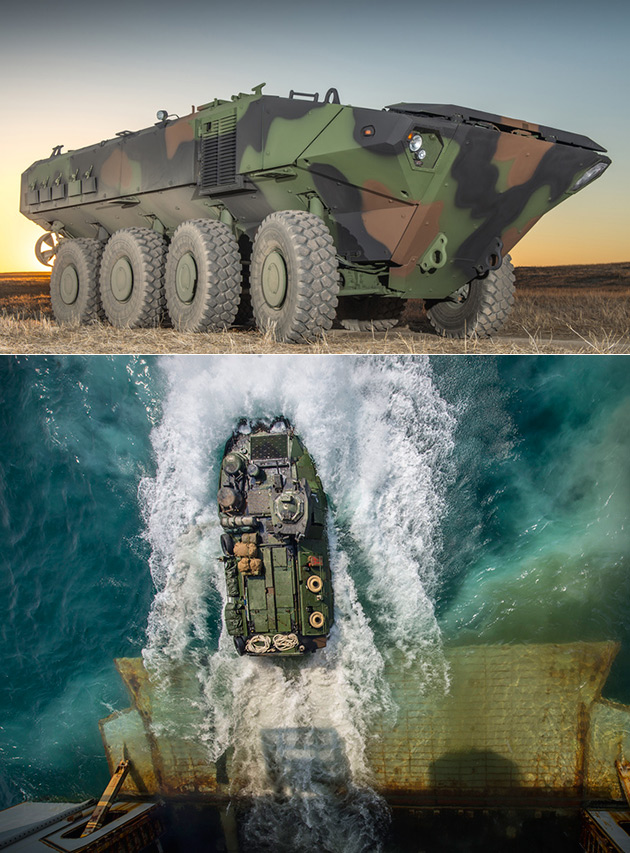 ACV Amphibious Combat Vehicle
