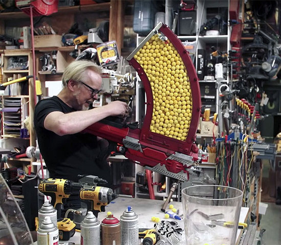 Adam Savage Nerf Blaster