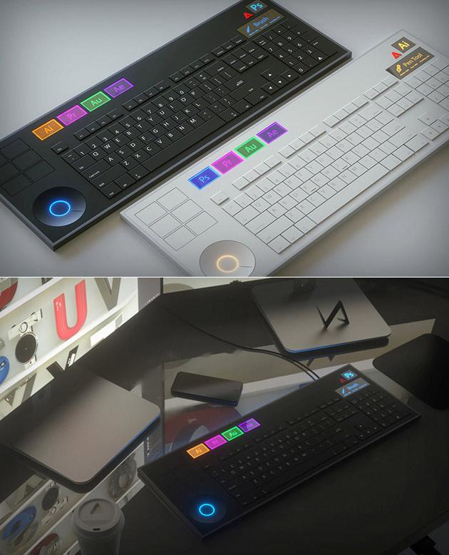 Adobe Computer Keyboard