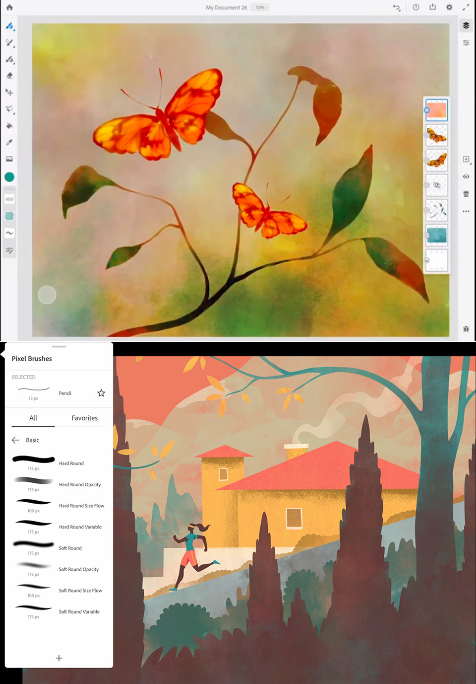 Adobe Fresco iPad App