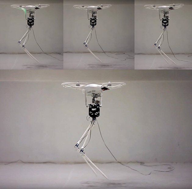 Aerial Biped Robot