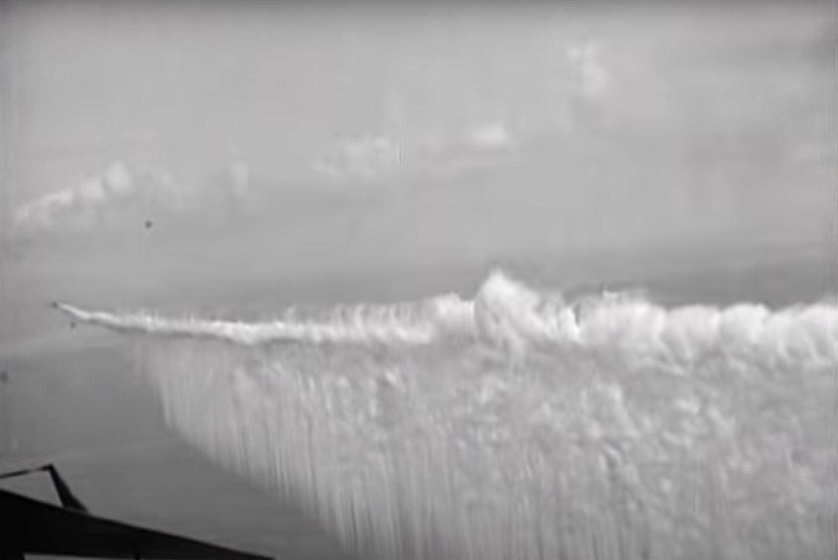 Aerial Smoke Curtain WW2