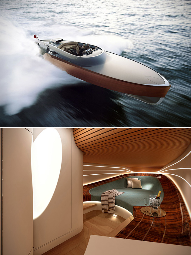 Aeroboat Rolls Royce