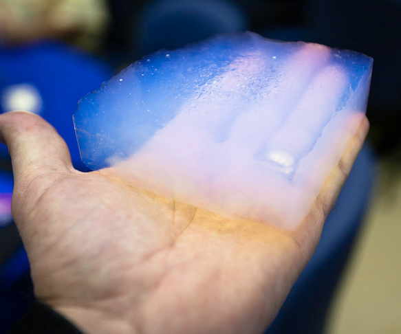 Aerogel World's Lightest Solid